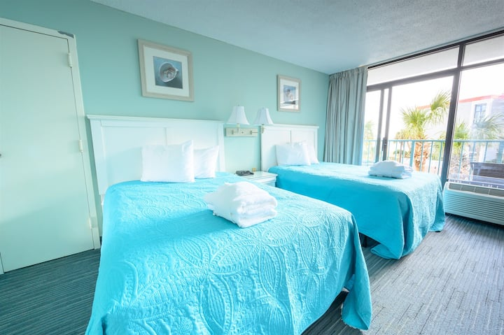 ⭐ Sand Dunes Resort, Low 2nd Floor, Ocean View Studio