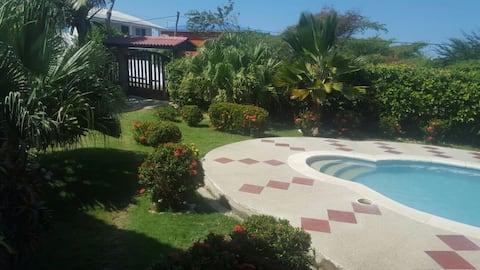 Villa las Marías  cabaña cerca a la playa