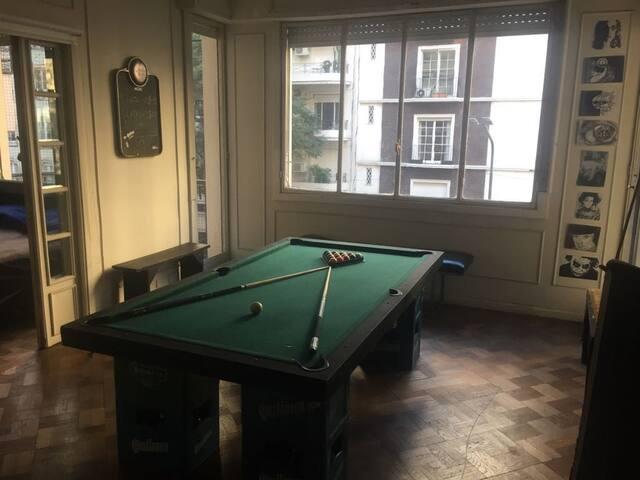 Apartamento en Recoleta, habitacion privada
