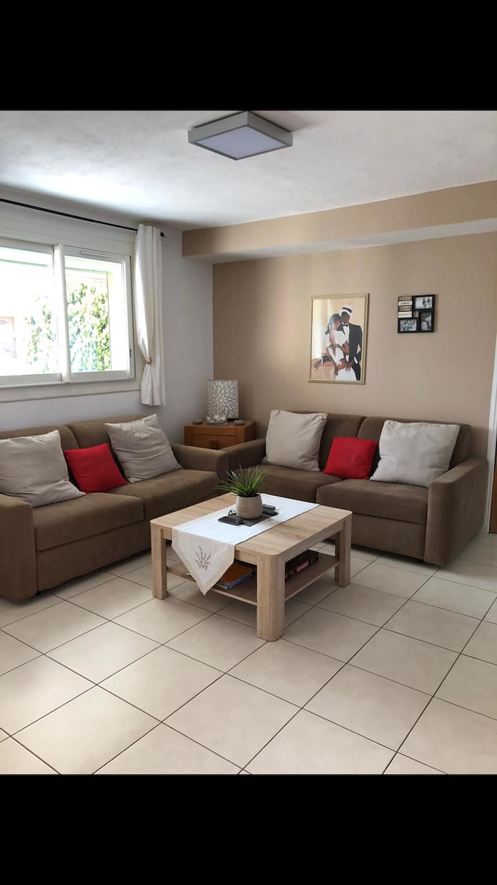 T3 moderne et indépendant dans maison individuelle