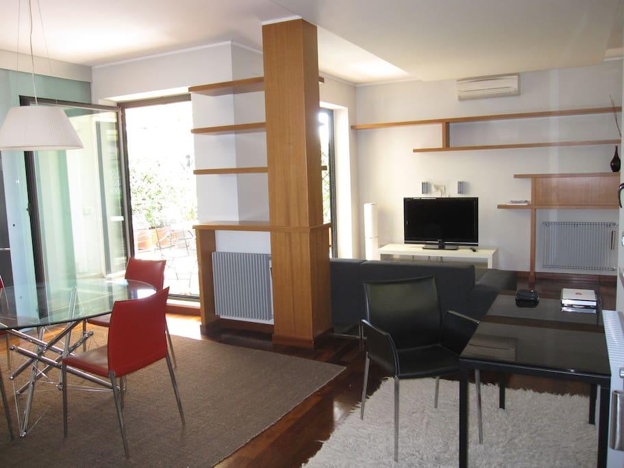 Elegant and cozy living room
