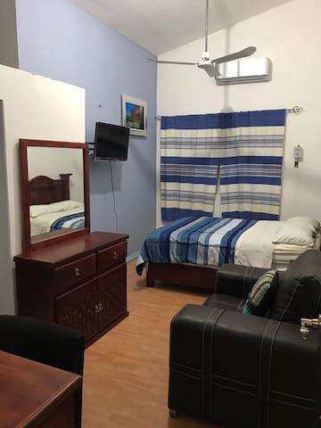 Habitación en Quinta Hidalgo, limpia, ejecutiva H1