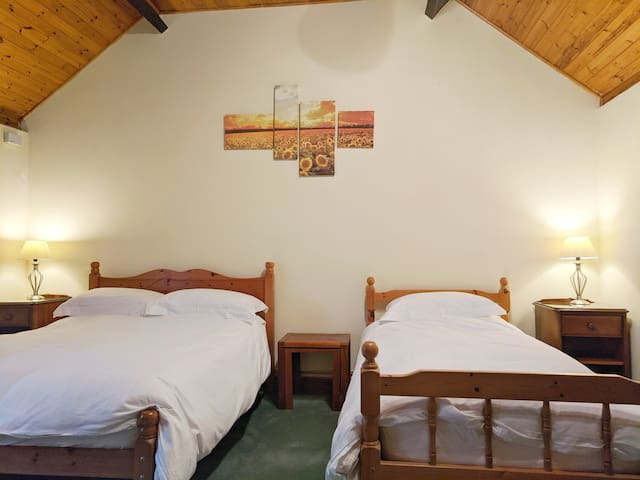 Large,  comfortable room on a working arable farm.