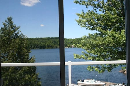 The Lake House:  4/2, awesome view