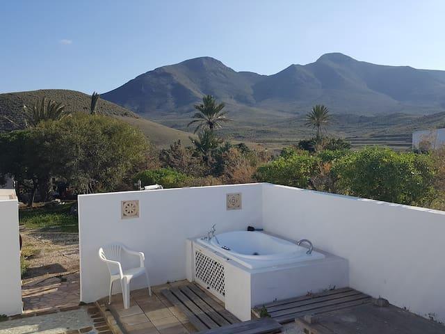 Bañera del patio