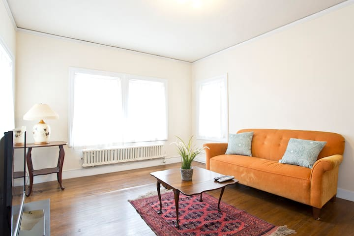 Wonderful 1bd in Charming 4plex