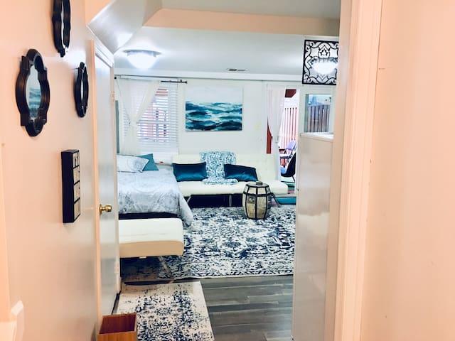 Private walkout basement apartment