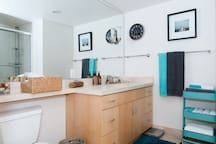 Bathroom 2 (accessed from master bedroom)