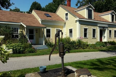 Ocean View Cape on 14 Private Acres - Searsport - Haus