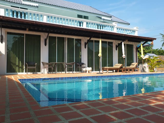Pranburi Pool Villa 80 m. to beach - Pran Buri - Villa