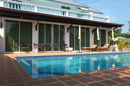 Pranburi Pool Villa 80 m. to beach - Pran Buri