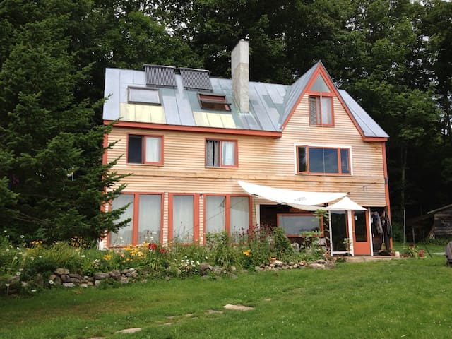 Eco friendly farm house - Bowdoinham - Casa