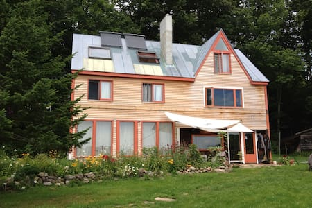 Eco friendly farm house - Bowdoinham - Talo