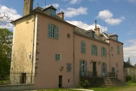 La Tour du Roy - Villeneuve-sur-Allier - Rumah