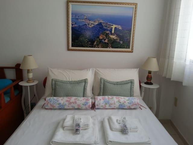Cozy Carioca WI-FI, AC, Cable TV - Rio de Janeiro - Lägenhet