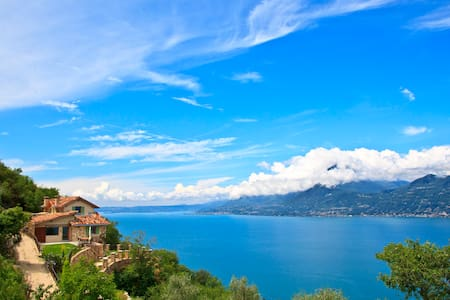 Luxury villa with great lake views - Castelletto di Brenzone