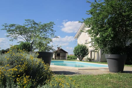 Relaxation in the heart of the Sauternes vineyard - Barsac - Haus