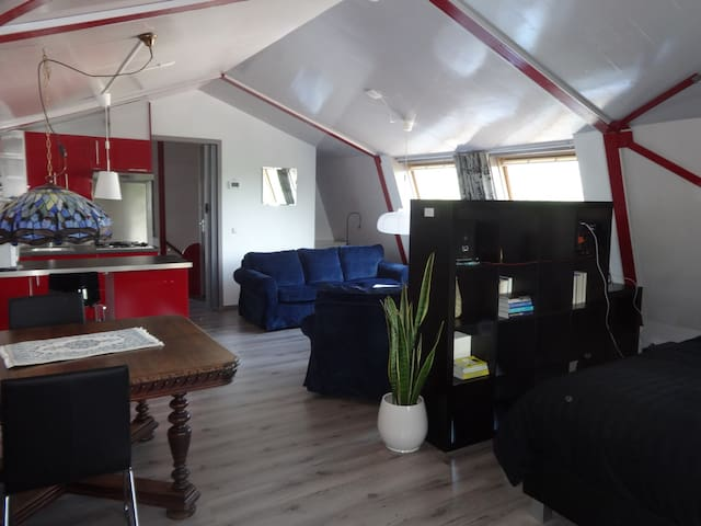 Hollyday Studio direct at IJselmeer - Wervershoof - Apartamento