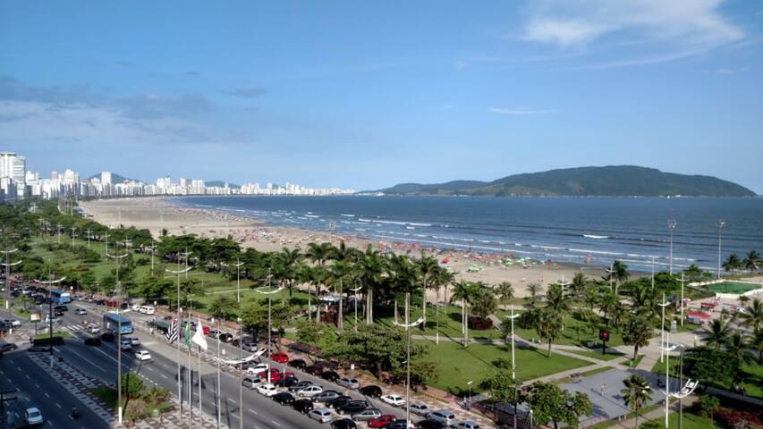 Apartamento em Santos SP de Frente para o Mar