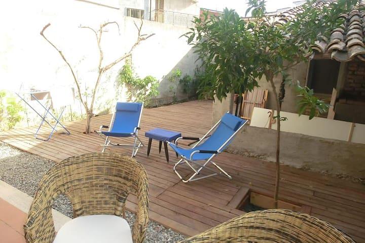 casa con veranda  e giardino - Siderno - Daire