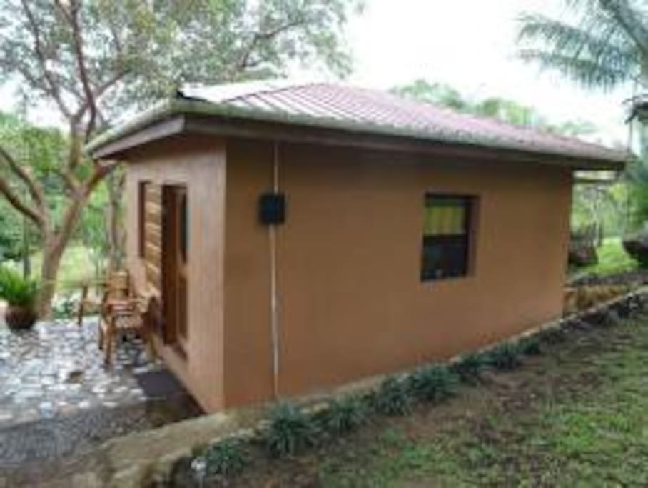 Modern Cabana and patio
