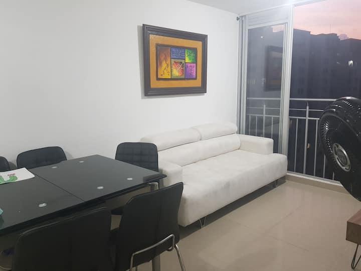 Hermoso apartamento para descanso
