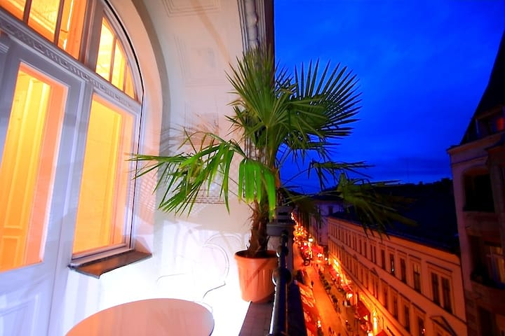 Raday Eclectic Suite, WiFi, A.C. - Budapest - House