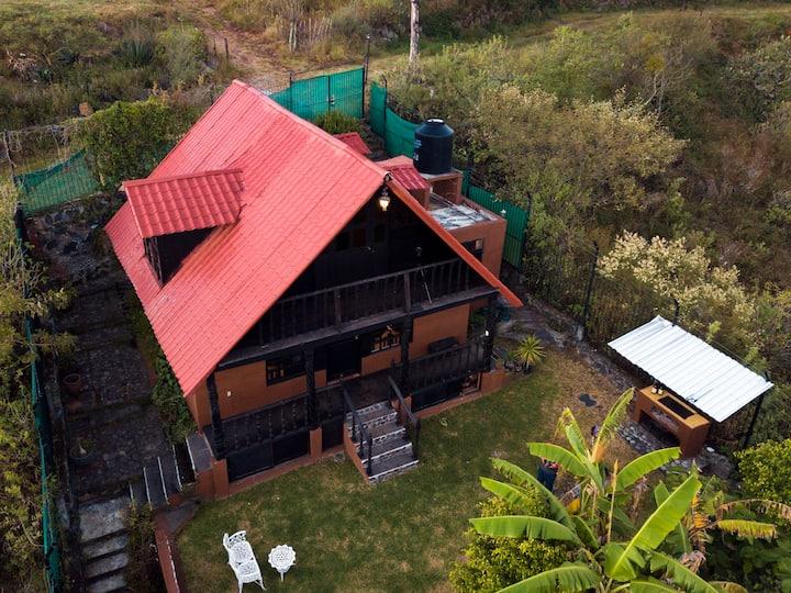Cabaña Ichupio, Disfruta hermoso paisaje