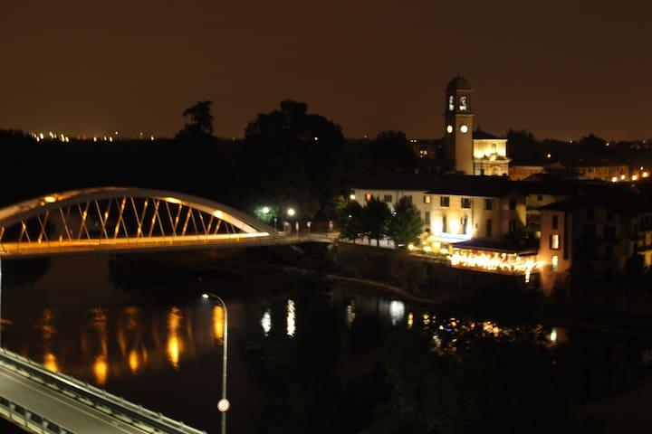 La finestra sul fiume - Vaprio D'adda