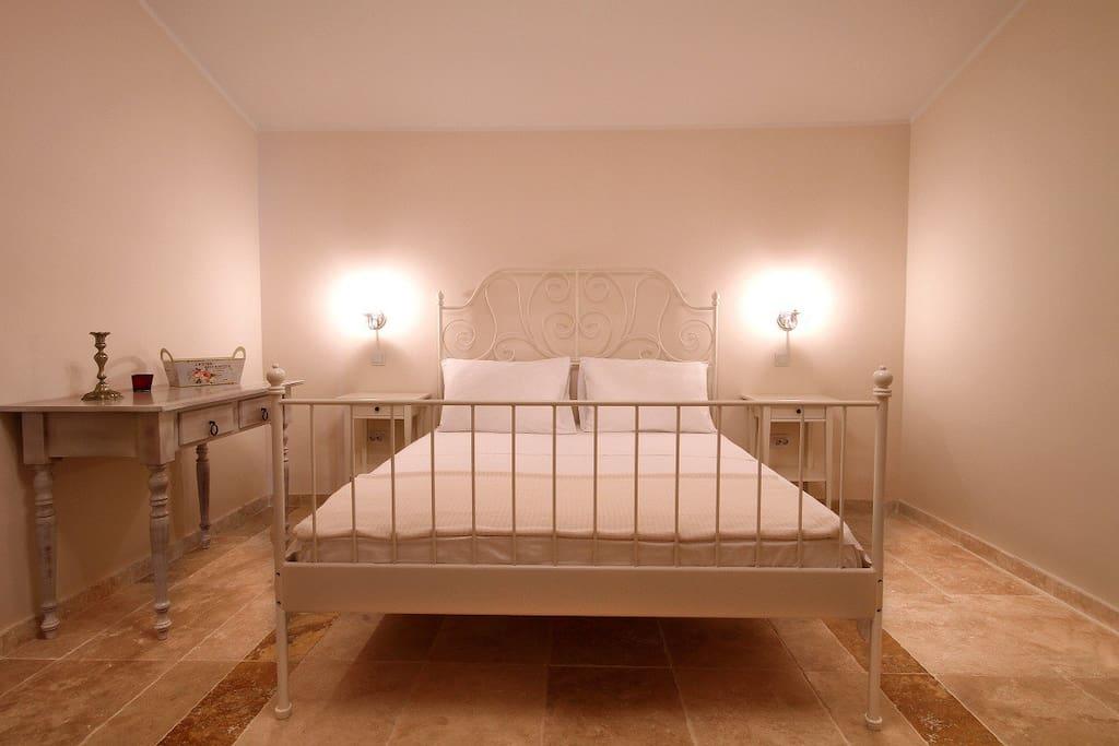 White  charming room