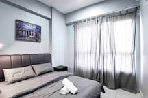 Cincai 亲采 Studio 1BR @ FTZ, Queensbay, Airport