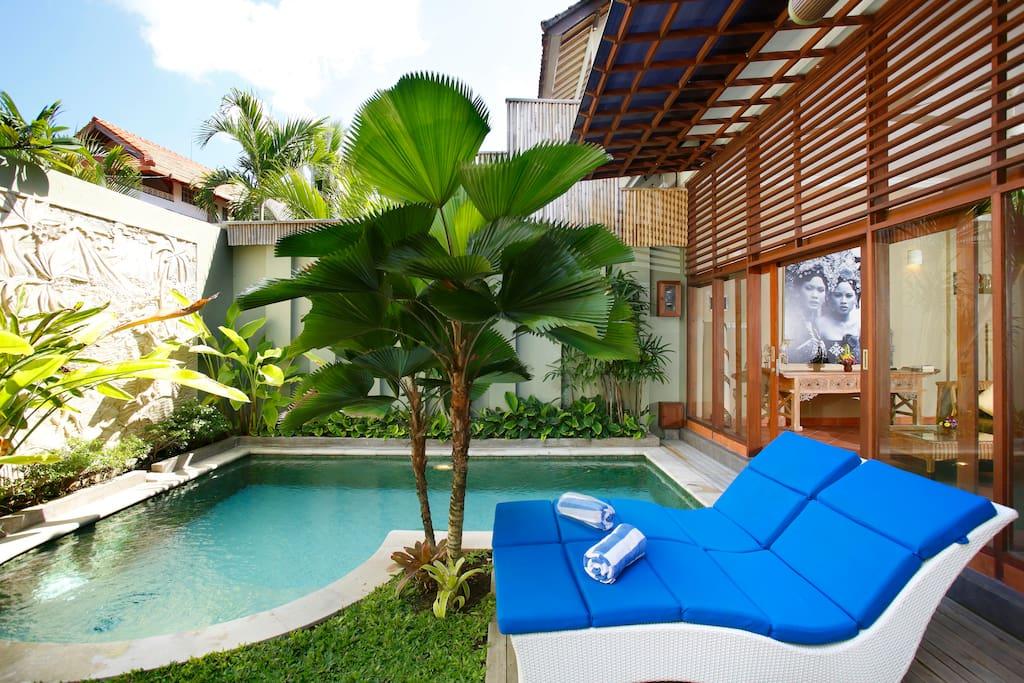 Villa Suzan -3 bed- Seminyak Beach