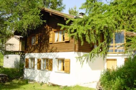 Chalet an herrlicher, ruhiger Lage - Bürchen - Casa