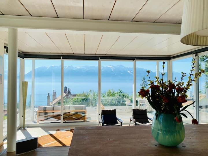 Holidays im Lavaux mit Aussicht / Lake Geneva