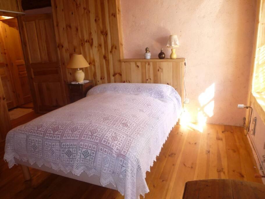 la chambre traditionnelle et écologique