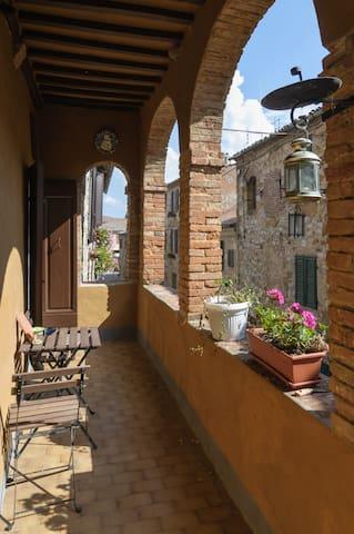 B&B il glicine, dimora storica - Montefollonico - Bed & Breakfast