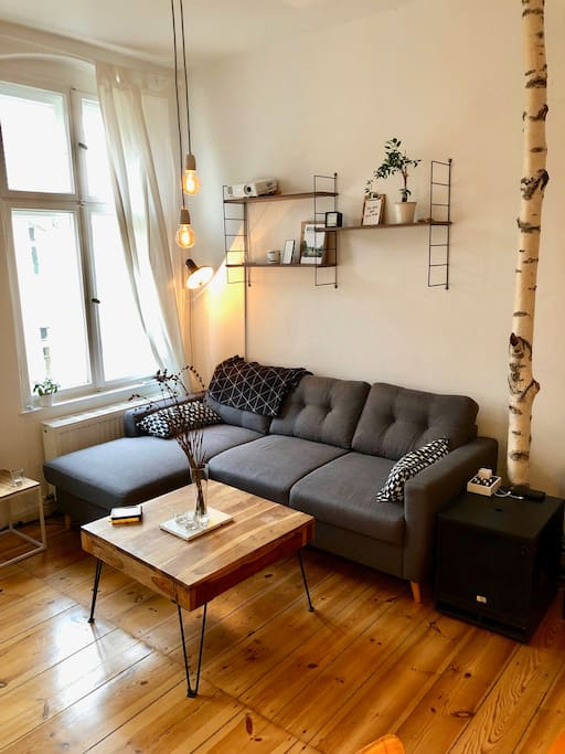 Sofa bed for two (extendable)