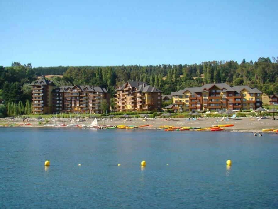 Vista desde el Lago Villarrica