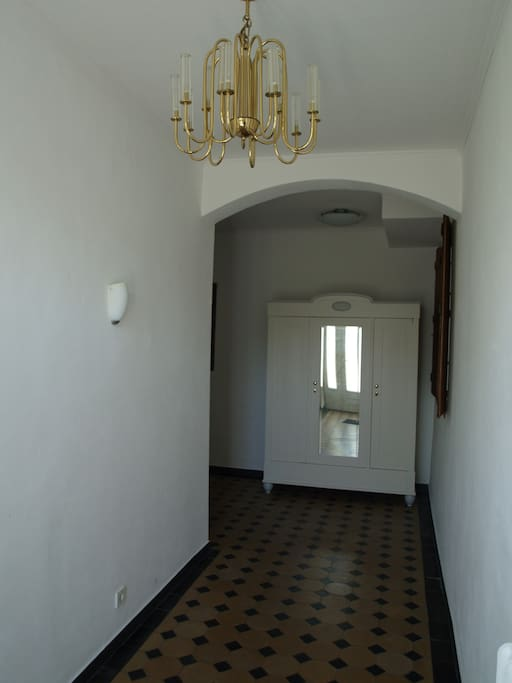 Flur zum Apartment /Hall way to the apartment