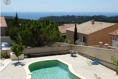 Villa 115m² piscine et vue sur mer - Ensuès-la-Redonne