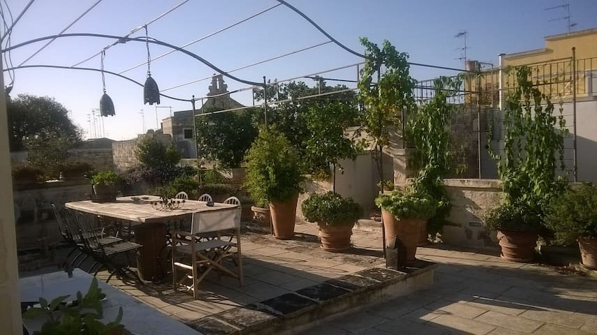 La stanza sulla terrazza