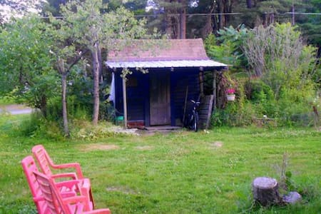 Camping - Glamp in Garden Shed in Our Big Yard - Hurleyville - Inny
