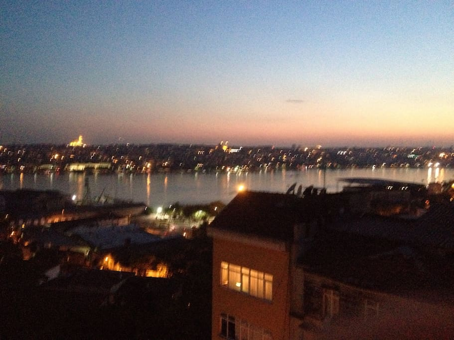 This is our Golden Horn view!