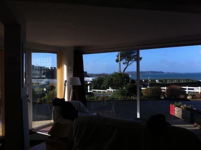 Appartement F3 vue mer-plage 30m - Trévou-Tréguignec - Apartment