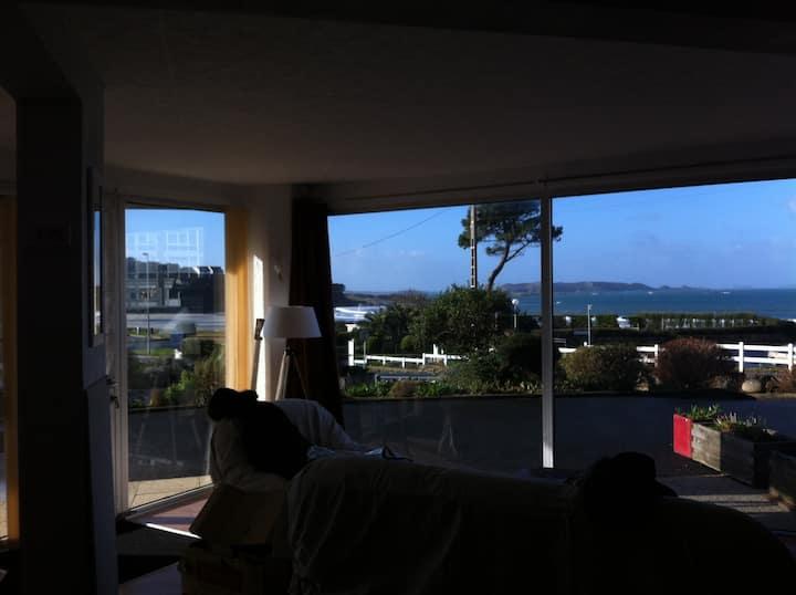 Appartement F3 vue mer-plage 30m