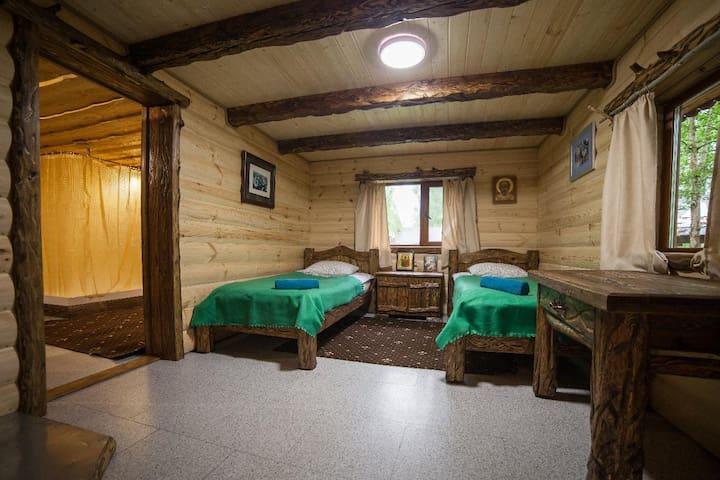 Luxury Log Cabin and All-Inclusive: Kunja