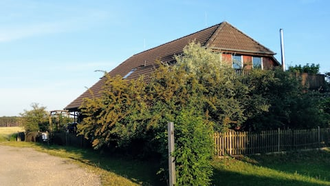 Apartment on the Spreewald cucumber bike path for 1 - 6 people