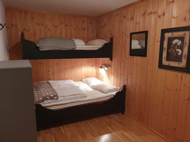 Soverom 3 med 3 sengeplasser