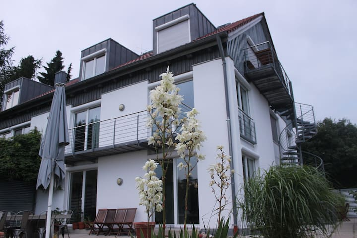 Modern house near toy fare - Schwabach