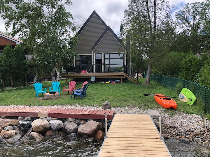 Newly Built Waterfront Cottage